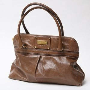 Marc Jacobs Oversized Womens Purse Brown Leather